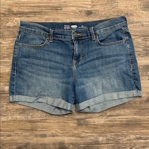 Old Navy Cuffed Jean Shorts